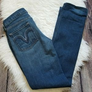 7 for all mankind skinnh leg jeans size 39